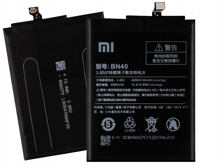 Oryginalna Bateria Xiaomi BN40 Xiaomi Redmi 4 Pro