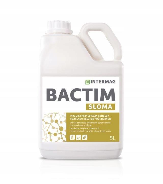 Bactim Straw 5l остатки разложения соломы Intermag