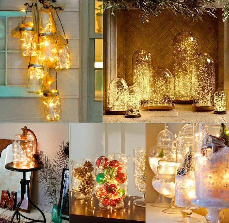LAMPKI DRUCIKI 50 LED NA BATERIE BIAŁE ŚWIATŁO Kod producenta CHOINKOWE NA CHOINKĘ STROIK