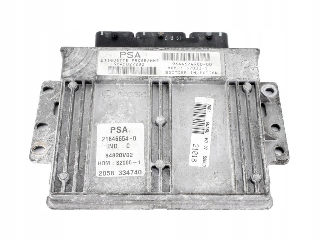 компьютер драйвер двигателя xsara пикассо 18 16v
