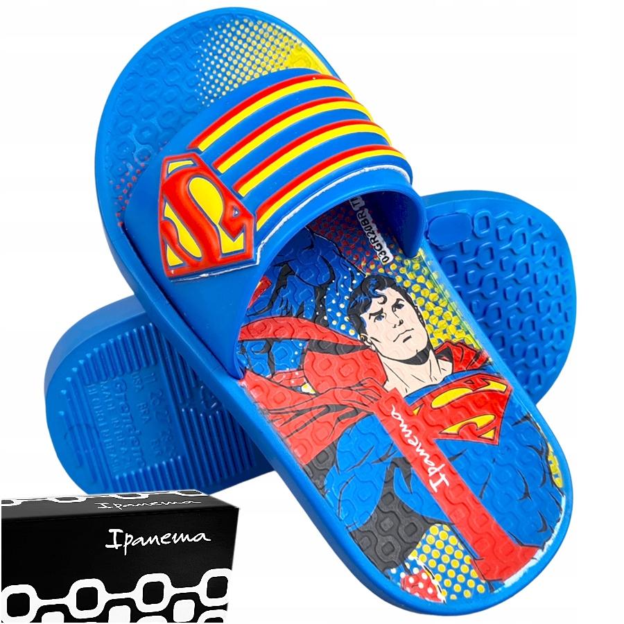 Купить IPANEMA Superman синие тапочки для детей 33/34 на Otpravka - цены и фото - доставка из Польши и стран Европы в Украину.