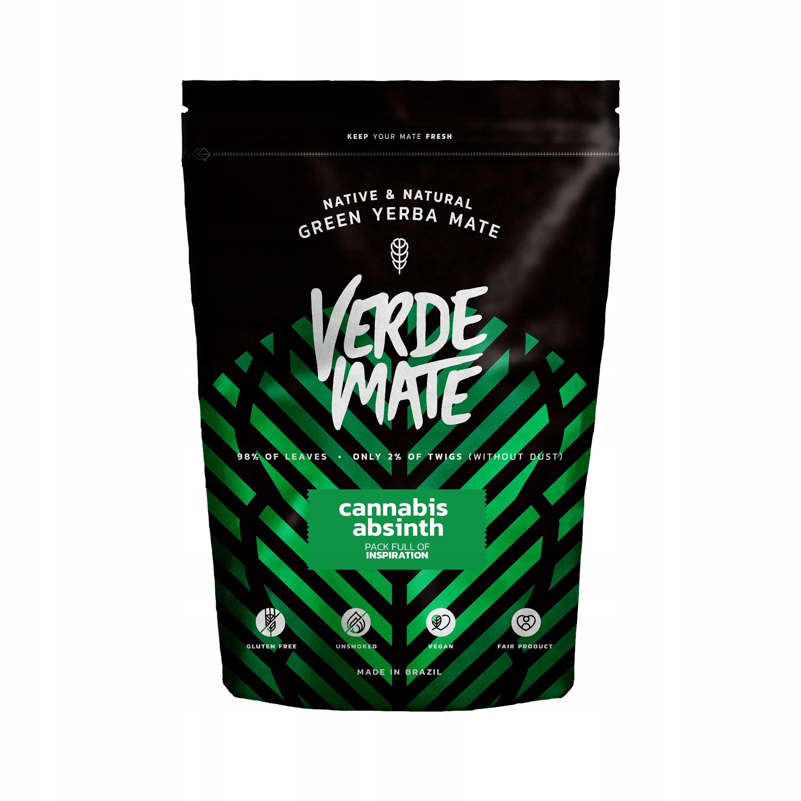 Yerba Verde Mate Green Cannabis Absinth 0,5kg 500g
