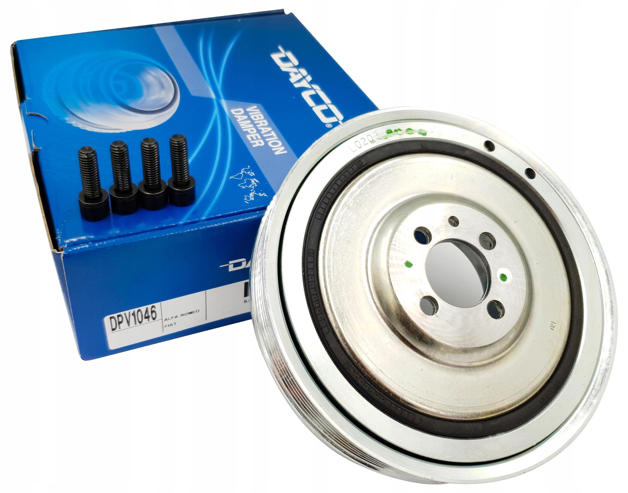 dayco dpv1046 комплект колеса шкива