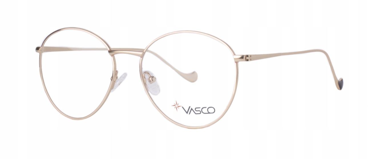 Optické rámy ROUND kovové RETRO okuliare