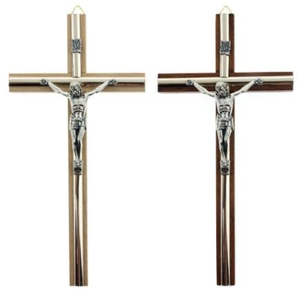 20cm drevený kríž pre zlato stenu super pásik