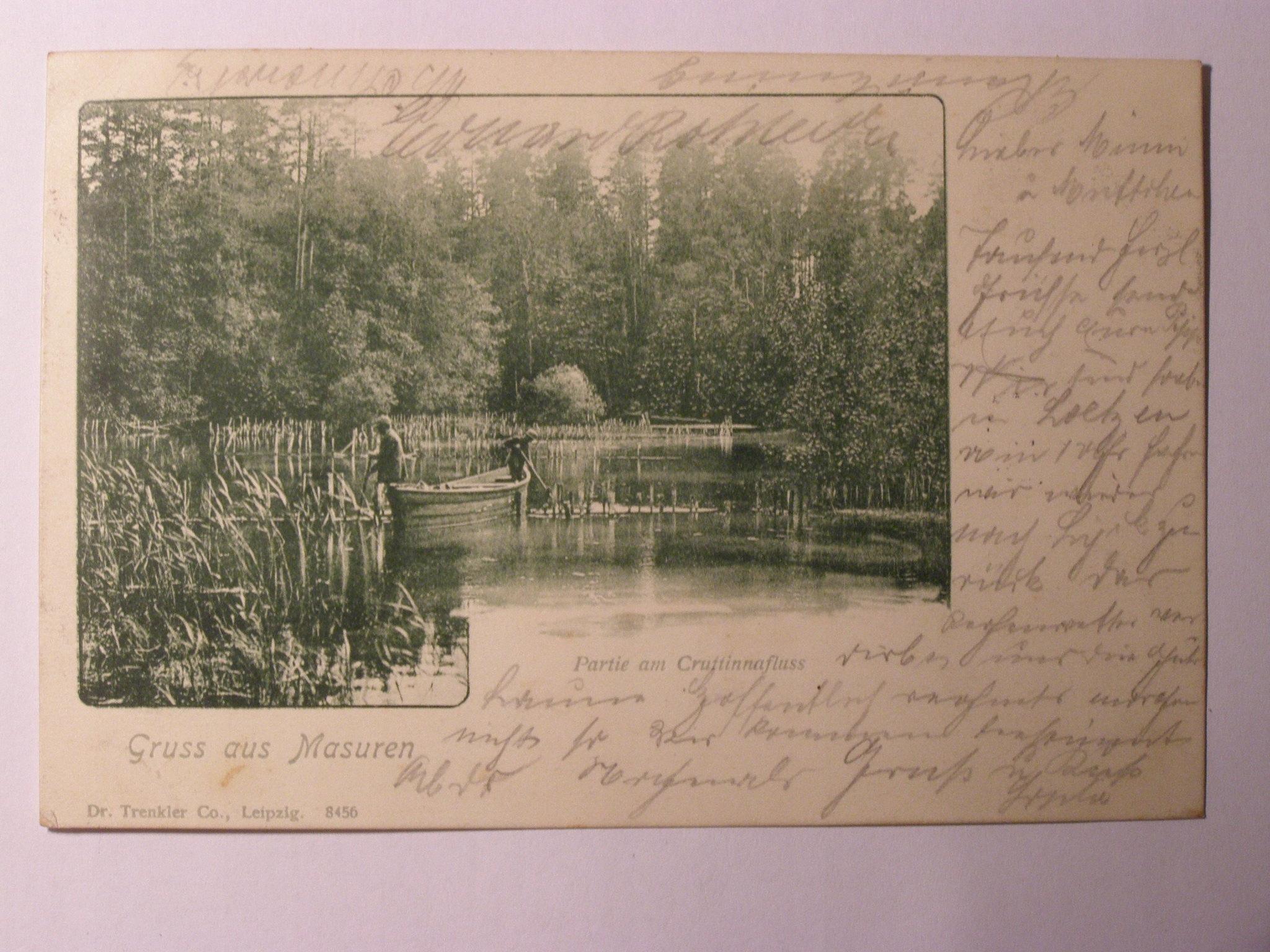 Mazury Puszcza Piska Krutynia rybacy 1902