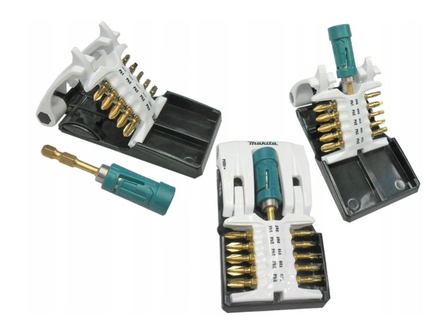 MAKITA B62000 zestaw uchwyt magnetyczny bity 11szt Kod produktu B-62000