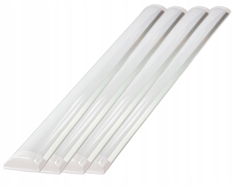 4x LED лампа тонкая панель люминесцентная лампа 36W 120cm 3600l