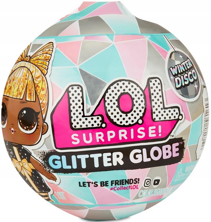 LOL Surprise Doll Glitter Globe WinterDisco