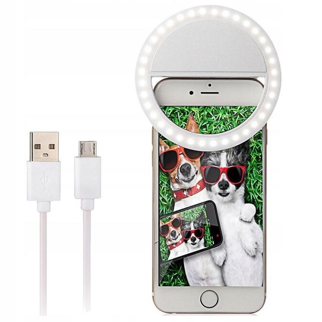 Item LED LAMP FOR SELFIES THE CROWN ON THE PHONE