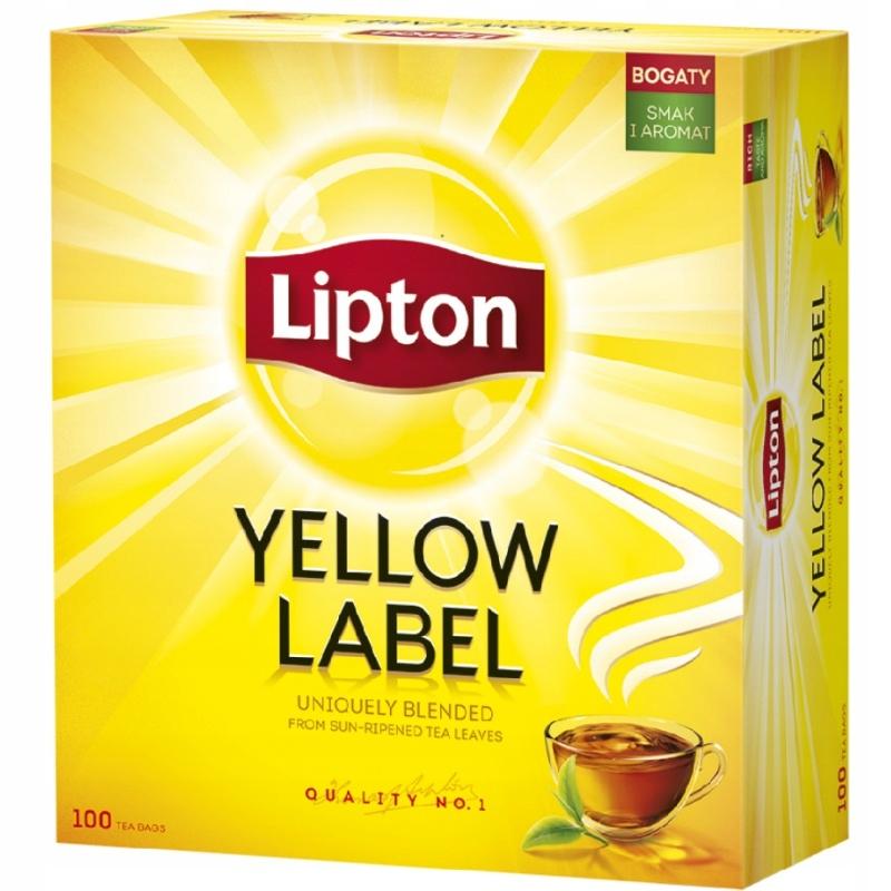 Чай Yellow Label 100 пакетиков с подвеской