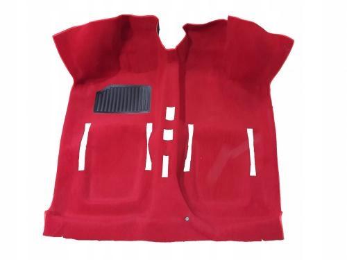 ковровое пола fiat 126p красная 46p