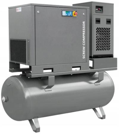 WALTER KOMPRESOR ŚRUBOWY 15/500P COMBO GRATISY Moc (kW) 15 kW