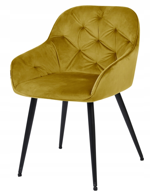 Krzesło tapicerowane Loren velvet curry Marka ExitoDesign