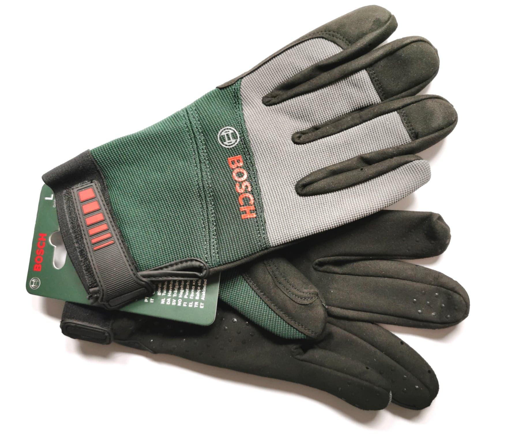 Защитные садовые рабочие перчатки BOSCH L