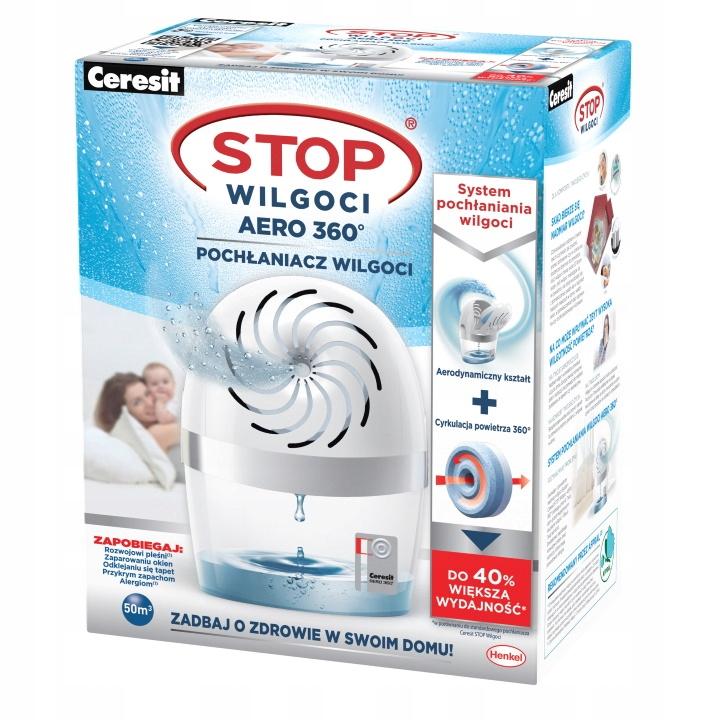 Ceresit Moisture Absorber AERO White Set