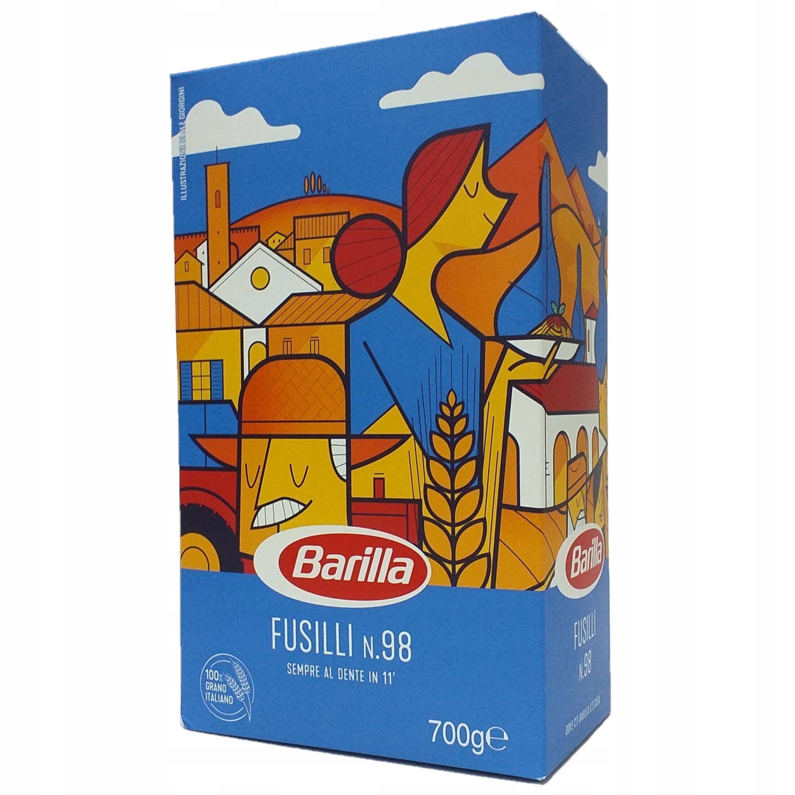 Barilla Fusilli 700гр оригинальная итальянская паста