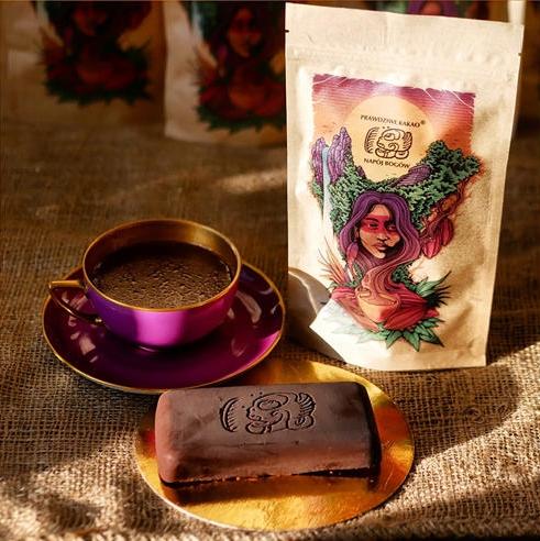 Prawdziwe Kakao Napój Bogów 100%Kakao Ceremonialne