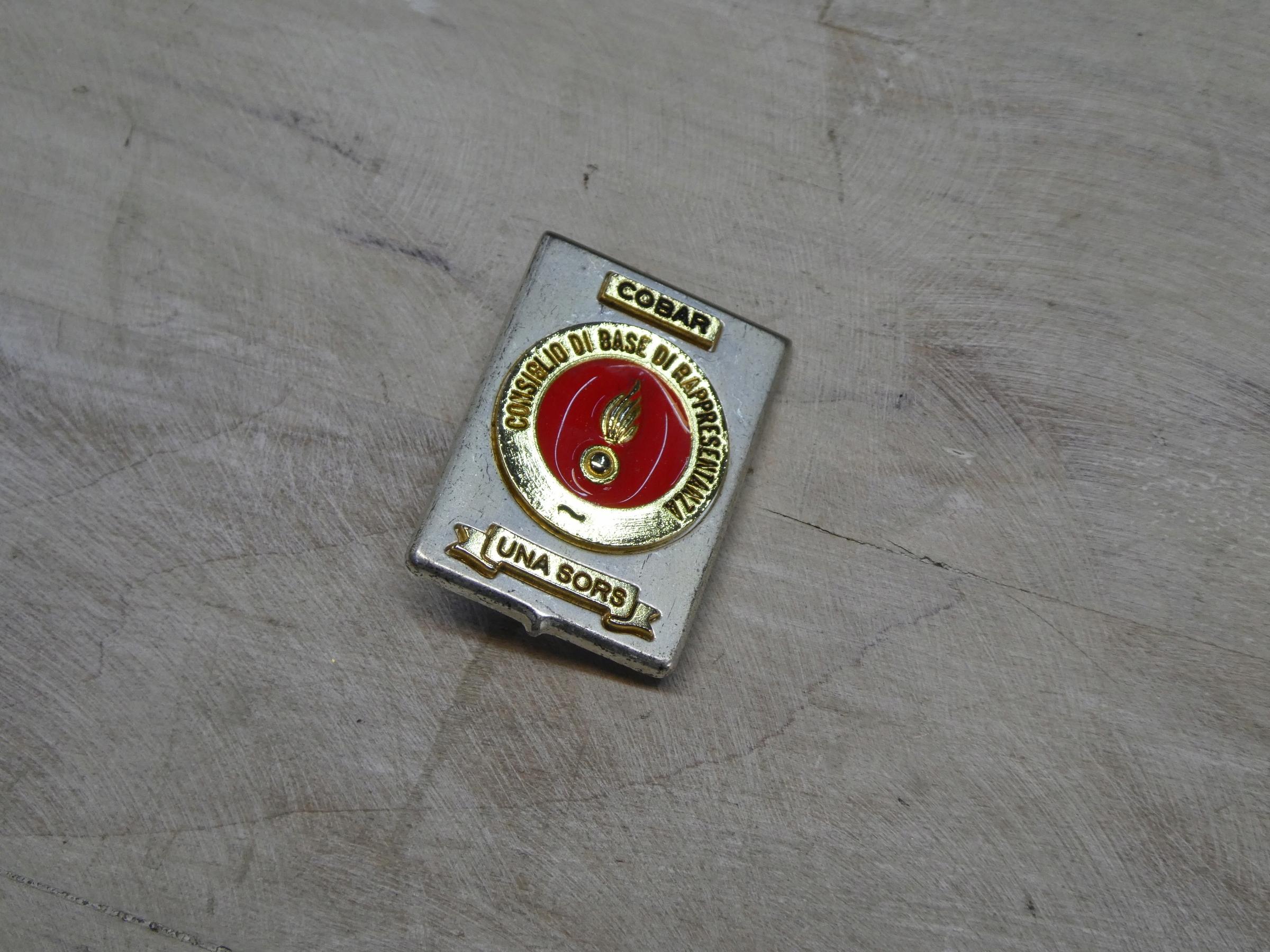 Taliansky odznak Burning Grenade