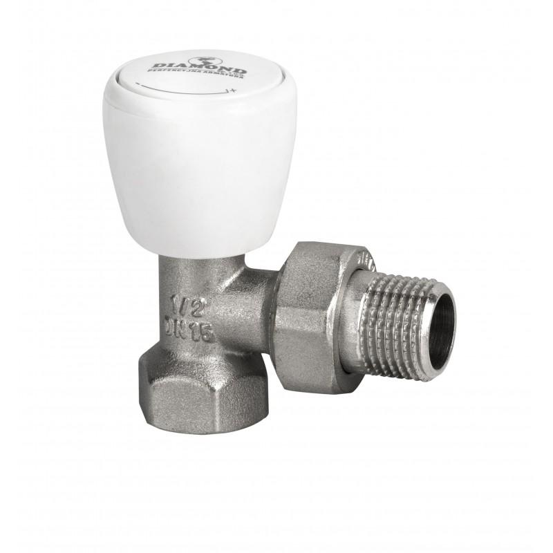 Угловой радиаторный клапан 1/2 дюйма