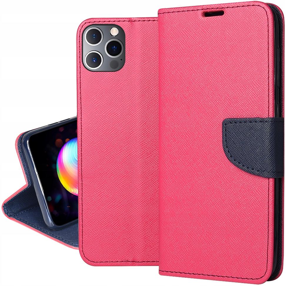 Etui do iPhone 12 Pro Fancy Portfel Case + SZKŁO