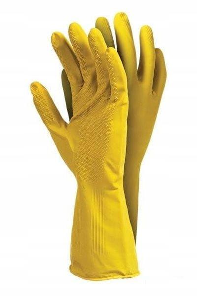 Rękawice gospodarcze RFROSE gumowe wielorazowe M