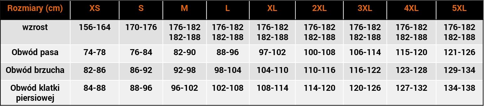WĘDKARSKI KOMBINEZON WYPORNOŚCIOWY 215-B GRAFF 3XL Cechy dodatkowe elementy odblaskowe pływająca regulowane nogawki