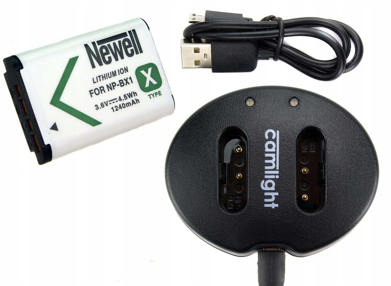 Batéria batérie nabíjačky pre Sony FDR-X3000R
