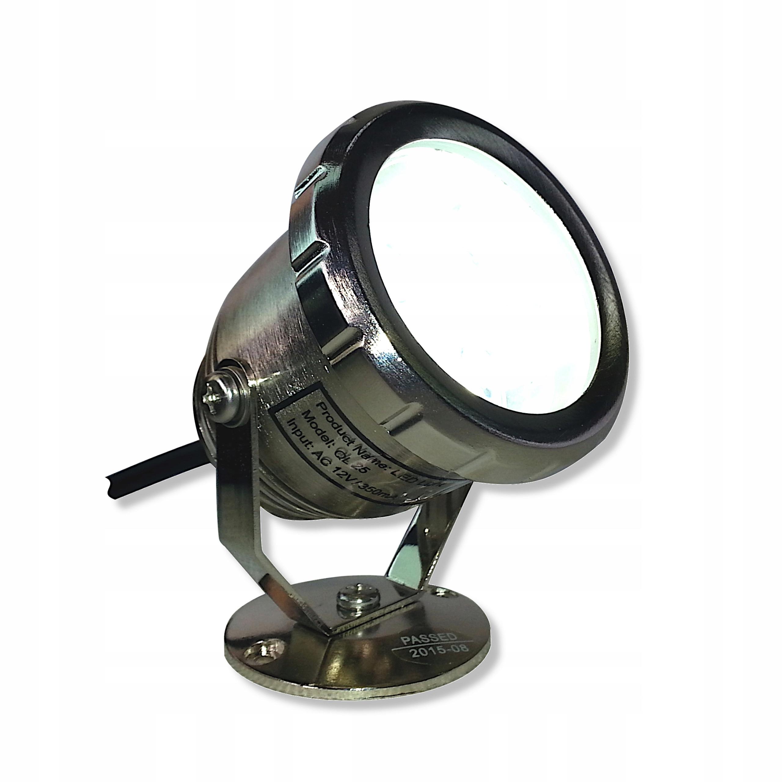 ЛАМПА LED - Фары из нержавеющей QL 25 3 Белый