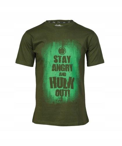 Купить Marvel AVAS Hulk Slogan T-Shirt - XL на Otpravka - цены и фото - доставка из Польши и стран Европы в Украину.