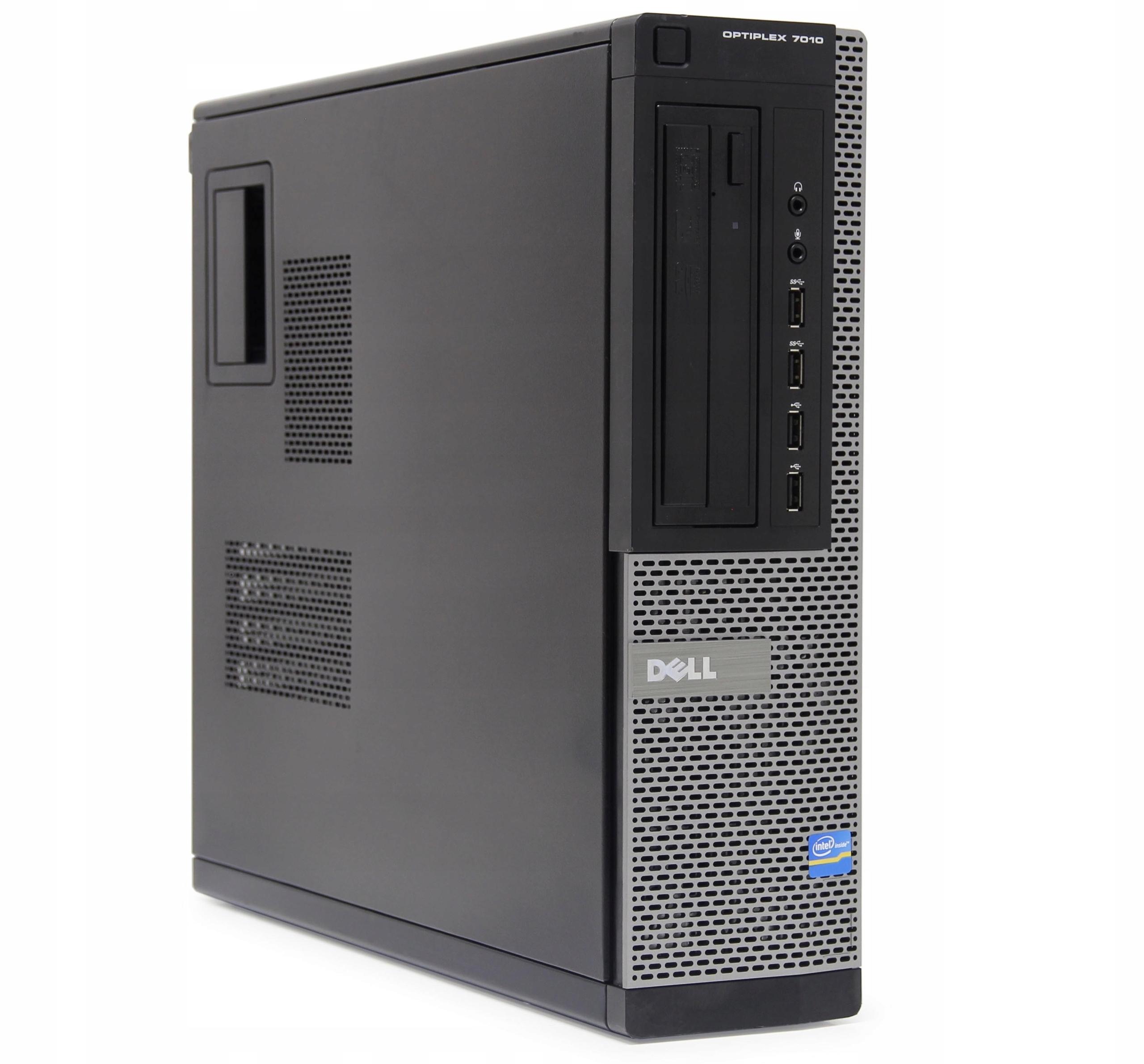 Komputer stacjonarny PC DELL i5 7010 16GB SSD W10