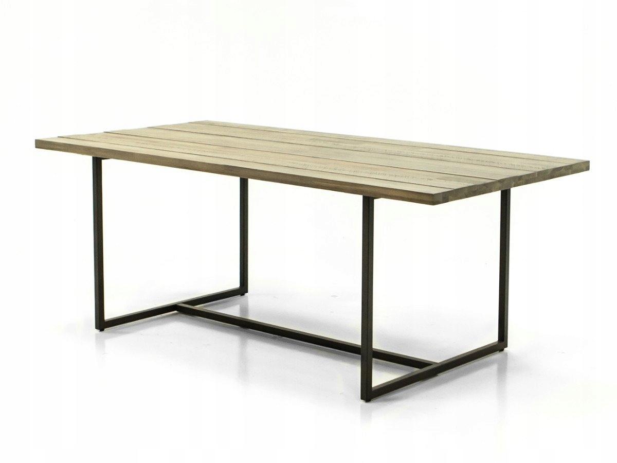 Flow D05-160 stôl 160 x 90 moderný retro