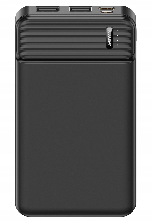 LOMMEKRAFTBANK 10000mAh USB MIKRO USB TYPC