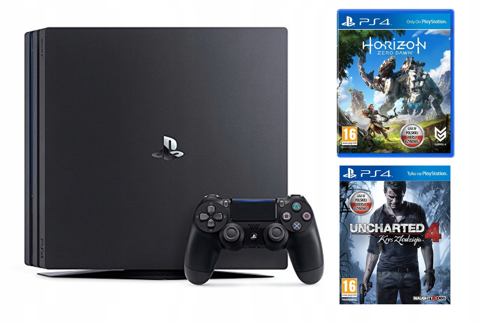 Item PS4 PRO 1TB 1000GB 4K HDR PLAYSTATION GAME HITS