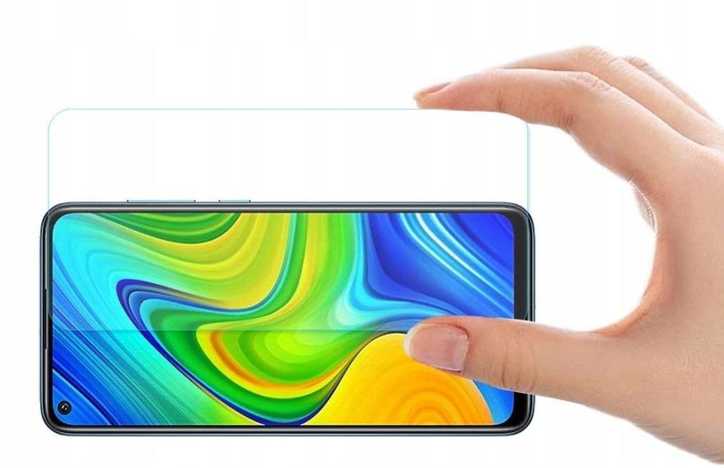Etui + szkło do Xiaomi Redmi Note 9 / Redmi 10X Kolor czarny