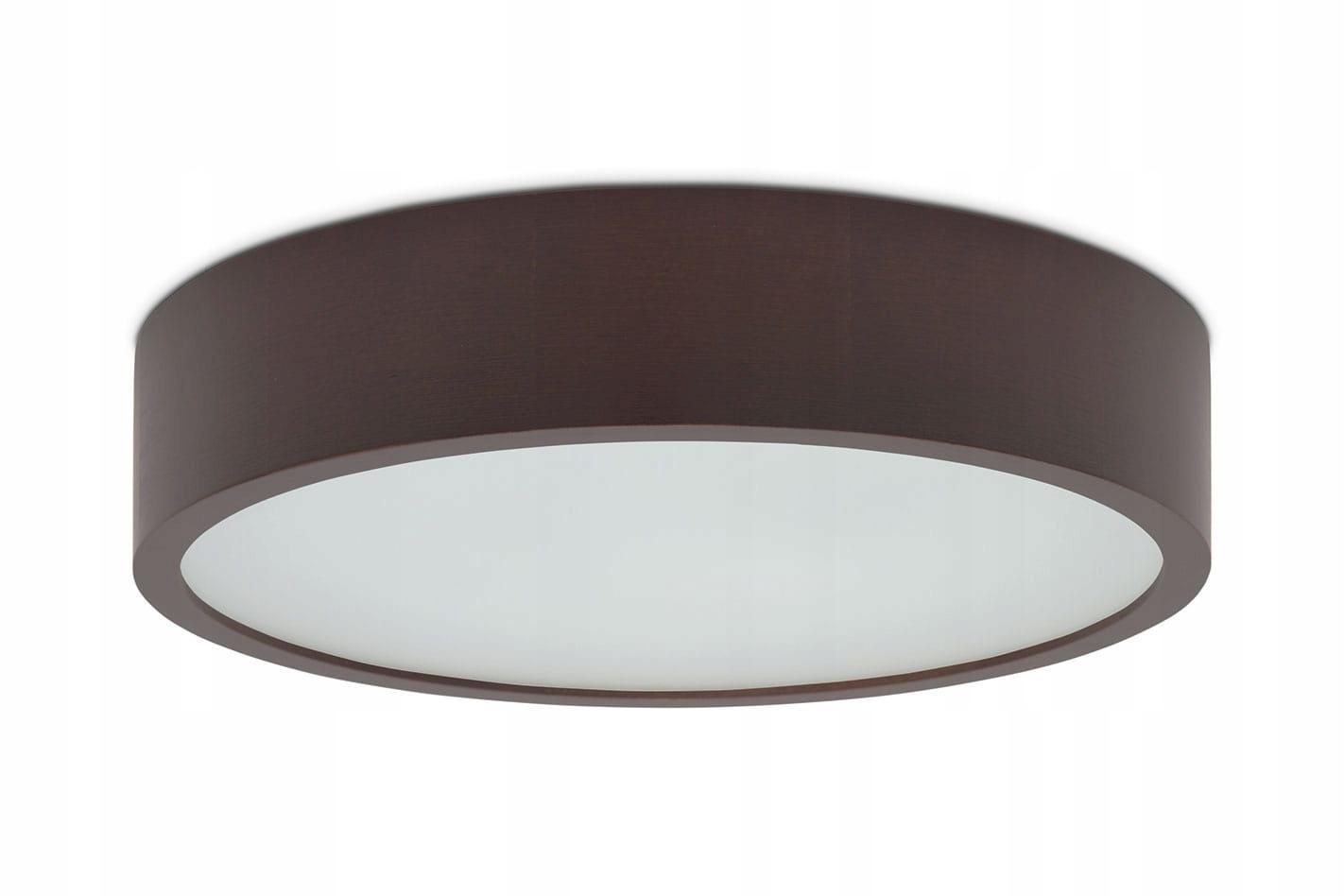 Drevené okrúhle wenge interiéru svetlo 375 stropné lampy