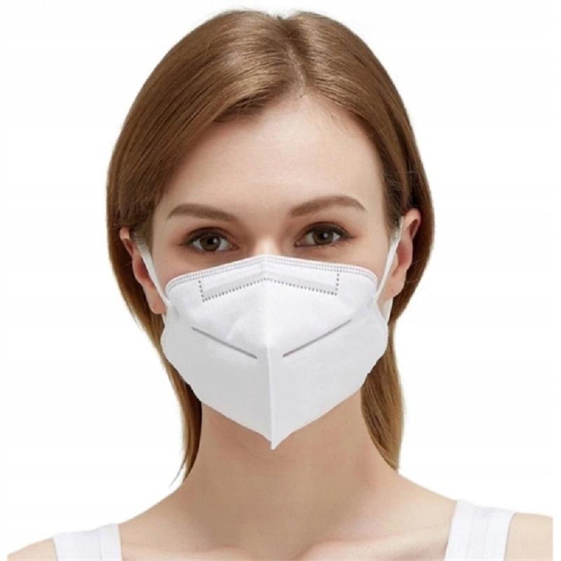 10x FFP2 FFP3 KN95 Maska Maska Lekárske masky Jedna veľkosť sa hodí všetkým
