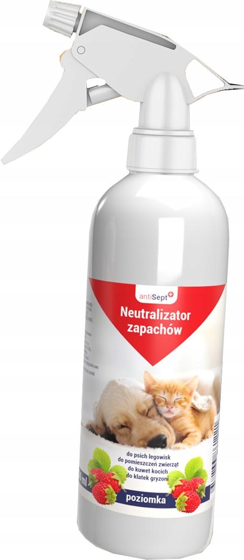 antiSept + нейтрализатор запаха - земляника