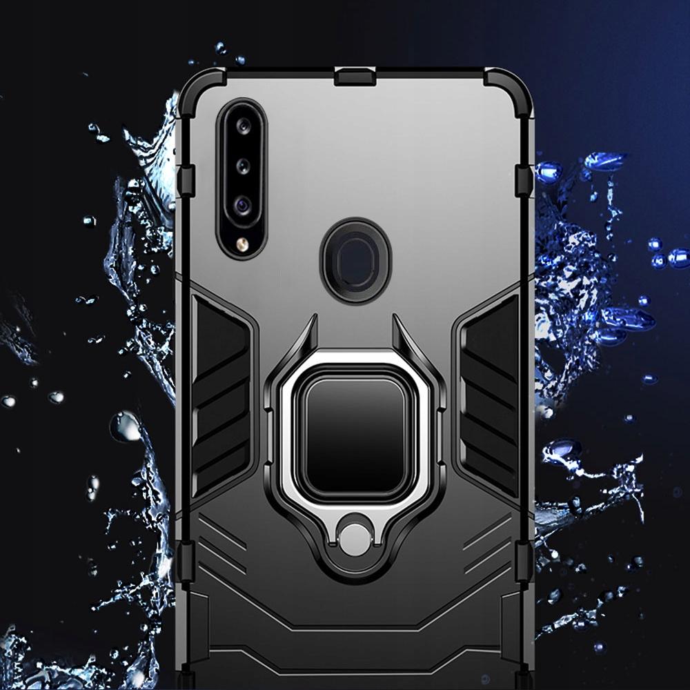 Etui do Samsung Galaxy A20S Pancerne Armor + Szkło Producent Akcesoria GSM