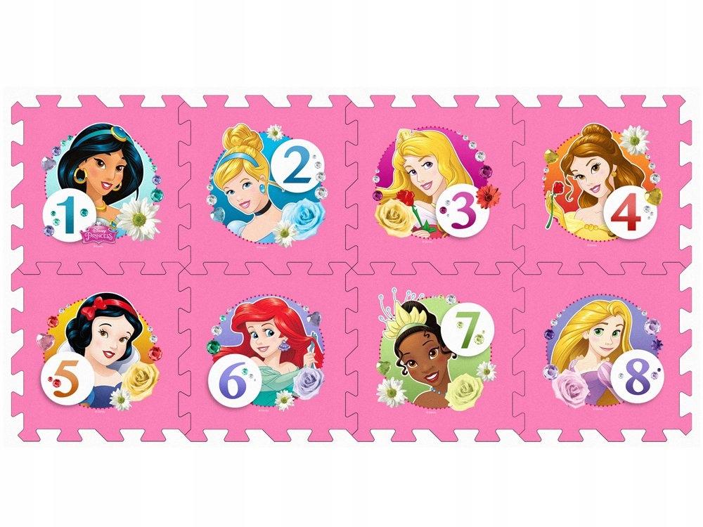 Puzzle piankowe Disney Princess mata 31x31 ZA3154 Płeć Dziewczynki