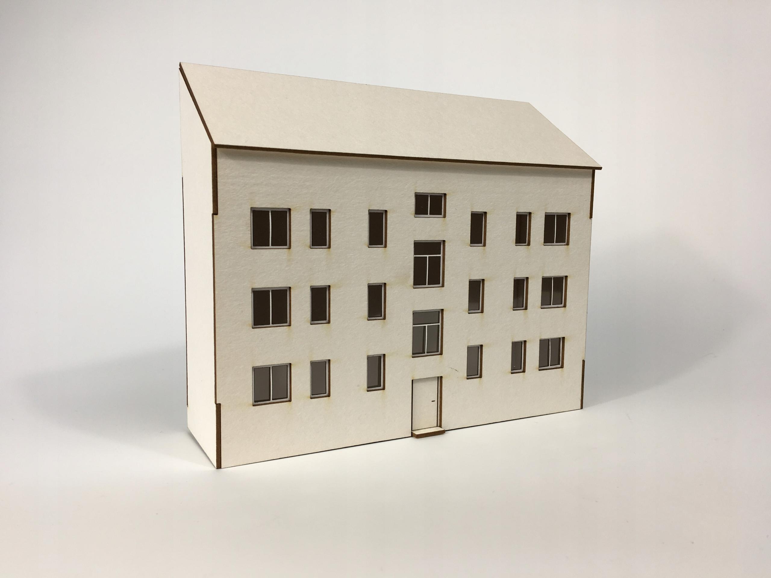 Pół budynku mieszkalnego typ: 02 H0