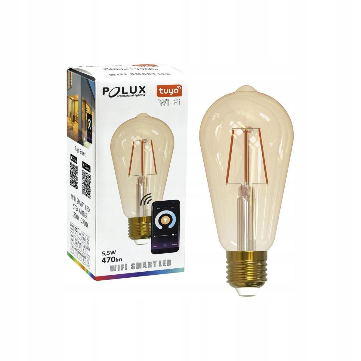 LED žiarovka E27 TUYA (230 V) 5,5 W 470 lm WiFI