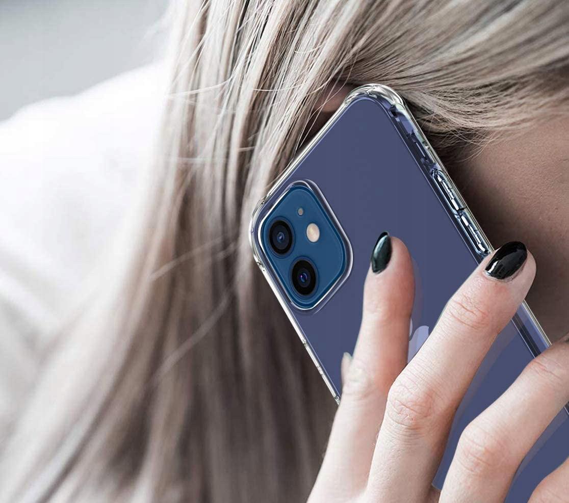 Etui do iPhone 12 ANTI-SHOCK Case + Szkło Producent INNY