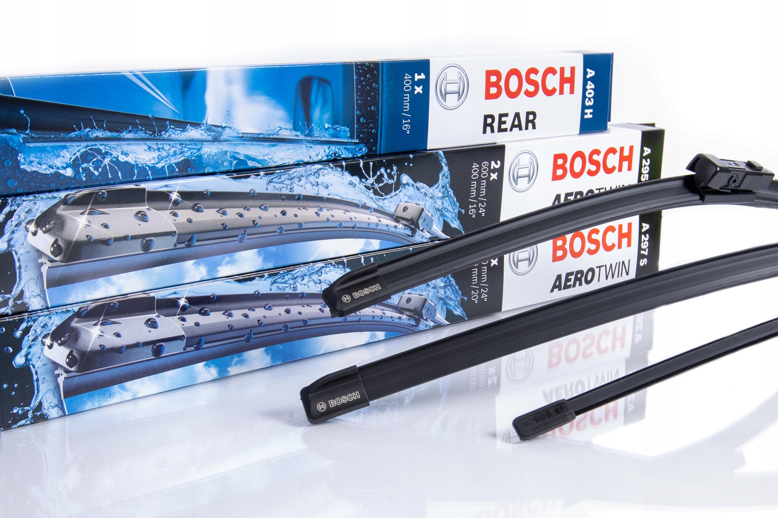 Bosch Hyundai ix35, ix 35 дворники перед + зад