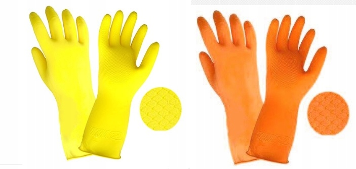 Перчатки хозяйственные на основе R500 L