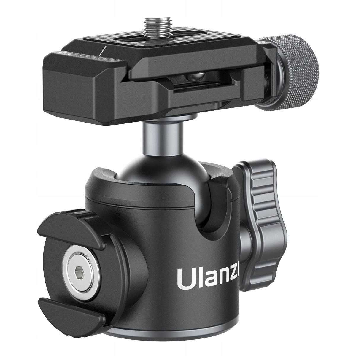 Купить Швейцарская шаровая головка 3D Ulanzi ISO Arca для камеры на Otpravka - цены и фото - доставка из Польши и стран Европы в Украину.