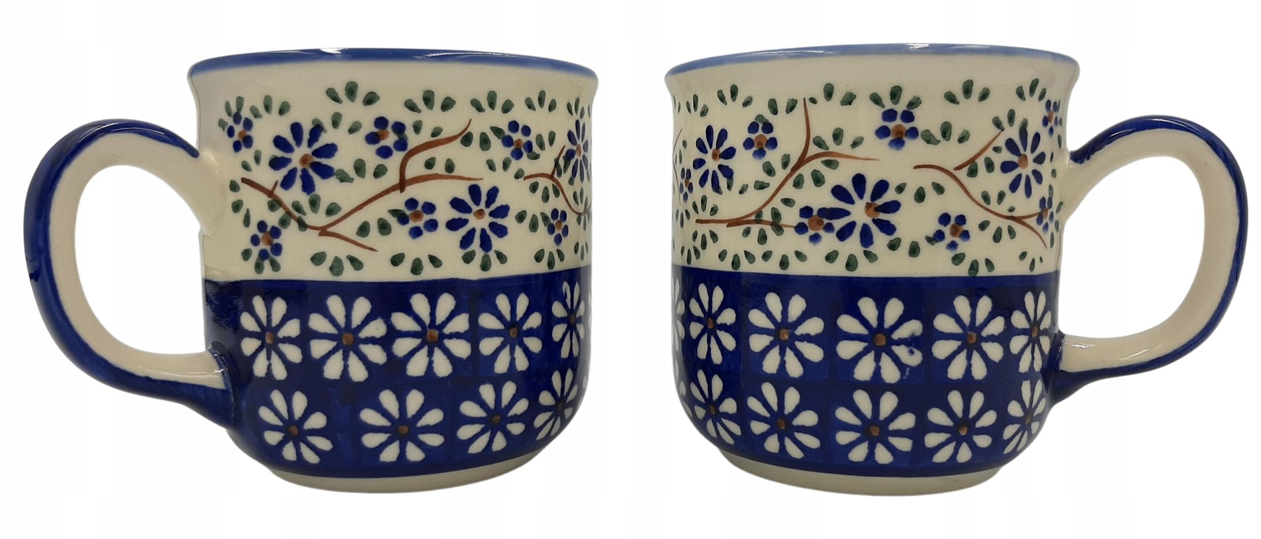 Ceramika Bolesławiec 2 стакана 250 мл
