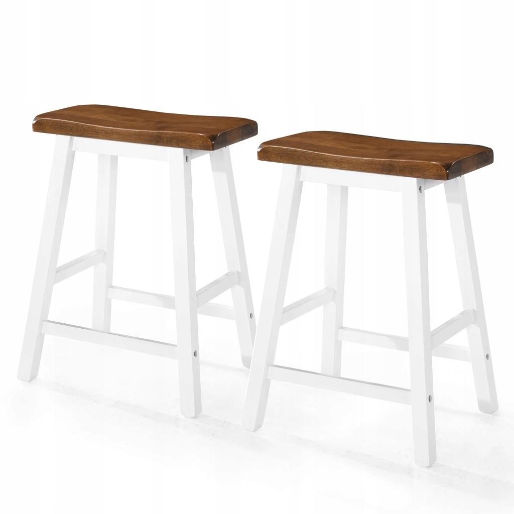 Bar stoličky, 2 Ks, lite dreva