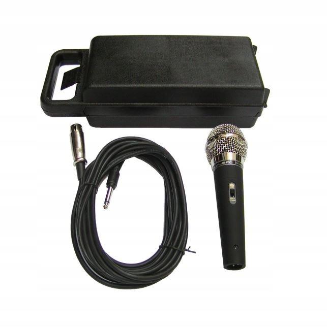 Dynamický mikrofón AZUSA DM-525 XLR Jack kábel 5m