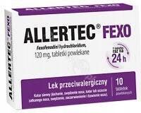 ALLERTEC FEXO alergia uczulenie x10tabletek